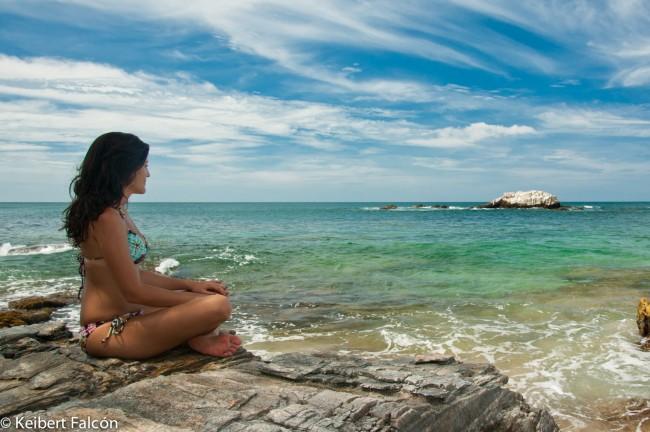 Playa caracolito un lugar para meditar keibert falc n - Un lugar para meditar ...