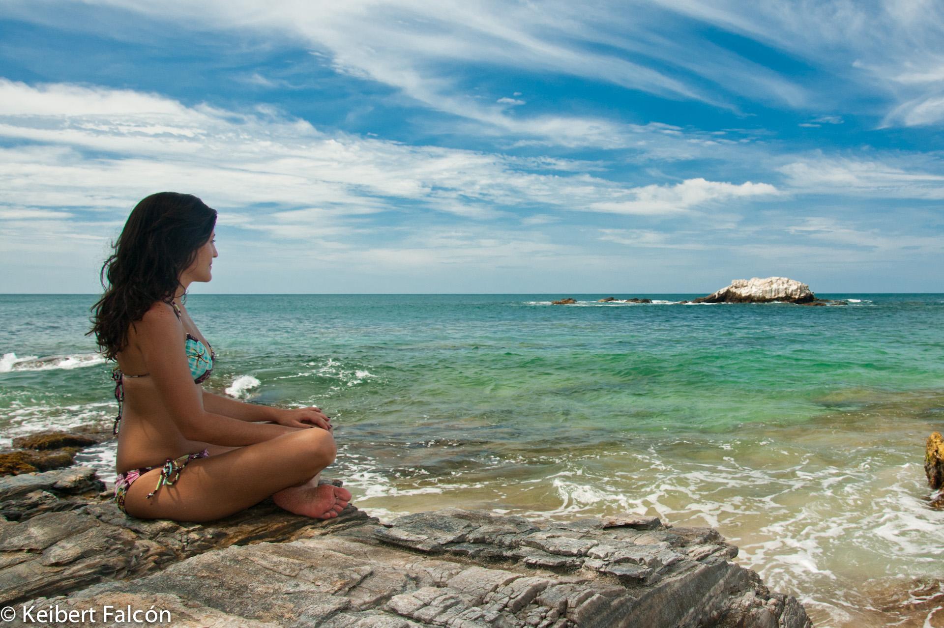 Playa Caracolito – Un Lugar para meditar